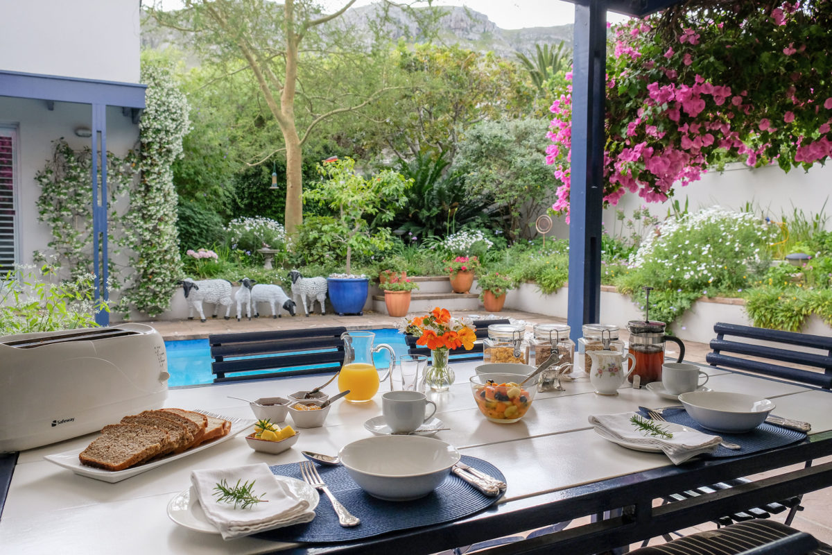 Fernkloof Lodge Breakfast