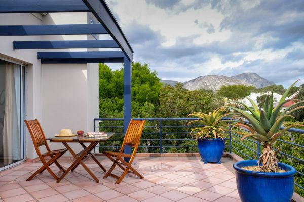 African Suite balcony
